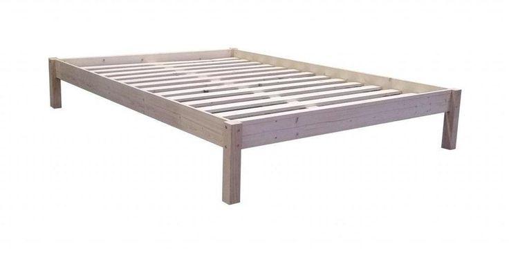Futonbett - Bettgestell mit Rollrost Kiefer massiv Bett 140x200  BGK140200 in Möbel & Wohnen, Möbel, Betten & Wasserbetten   eBay!