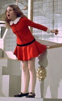 Red dress veruca salt tattoo