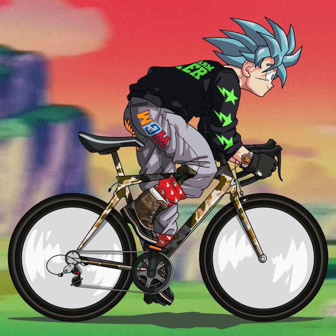 Goku ii bape