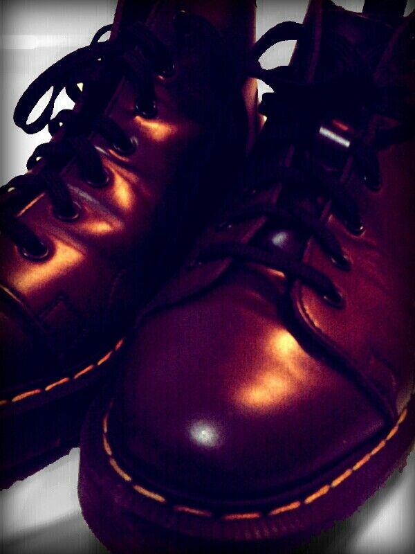 Monkey boots Solovair oxblood