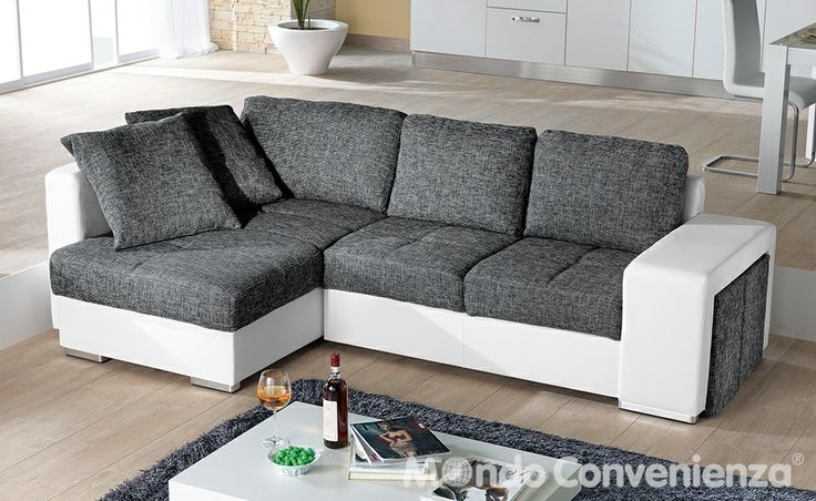 divano letto sempre mondo convenienza sofa pinterest. Black Bedroom Furniture Sets. Home Design Ideas