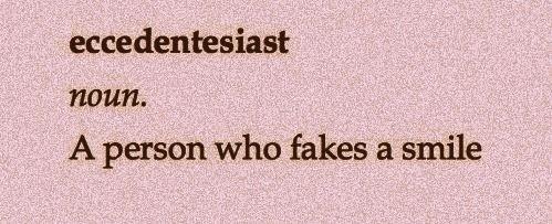 Interesting word... eccedentesiast