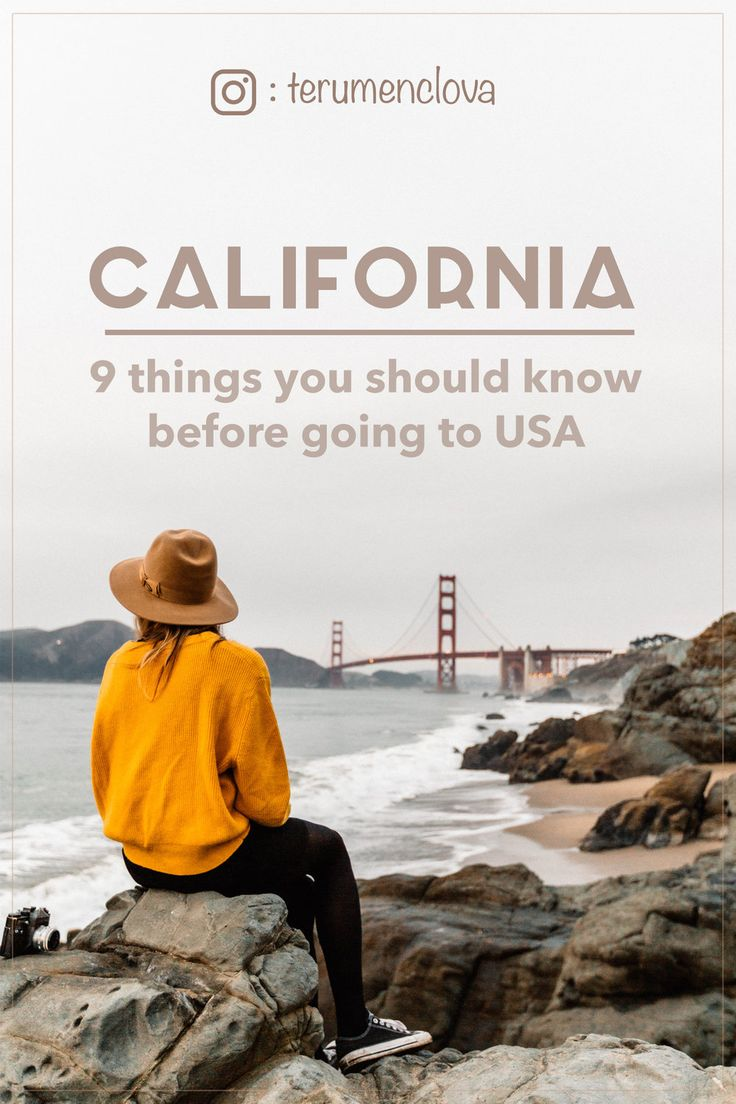 9 things you should know before going to USA. Includes tips for California and Oregon.