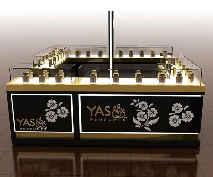 Perfume Display Counter For Mall Shop Perfume Display Retail Store Design Perfume