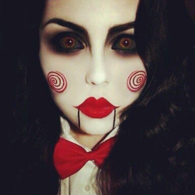 This Jigsaw makeup is incredible! #halloween #thebeautybabes #halloweenmakeup #makeup #saw #jigsaw