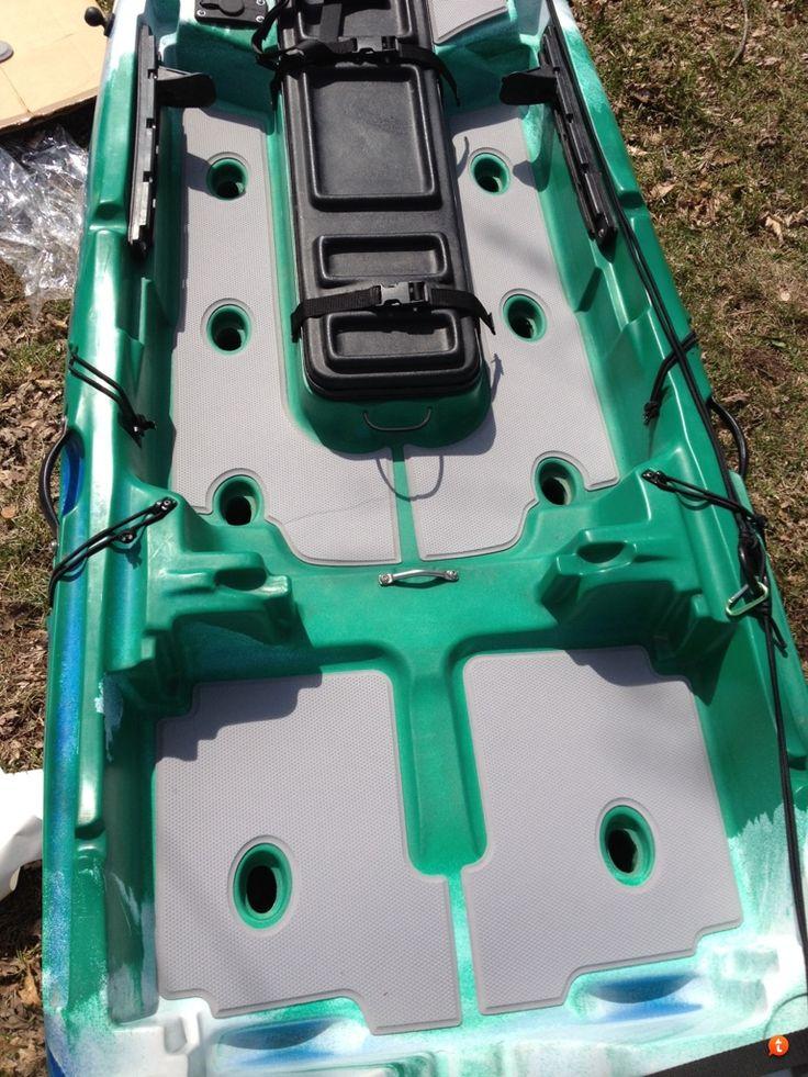 Jackson Kayak Cuda Seadek Kit Installed Http Www Seadek