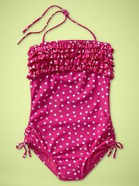 and another cute little girl swimsuit