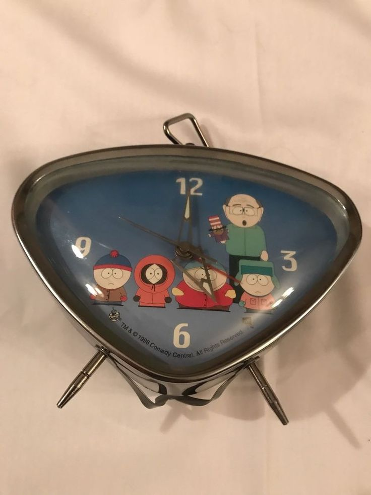 South Park Alarm Clock 1998 Comedy Central Mr. Garrison Mr. Hat And The Kids  | eBay