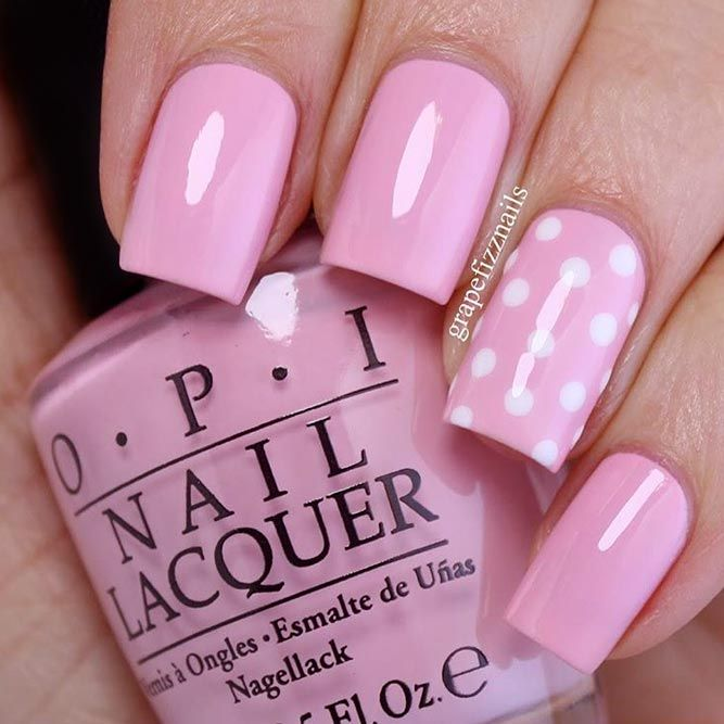 Nice Nails Designs with Cute Dots ★ See more: https://naildesignsjournal.com/nice-nails-cute-dots/ #nails