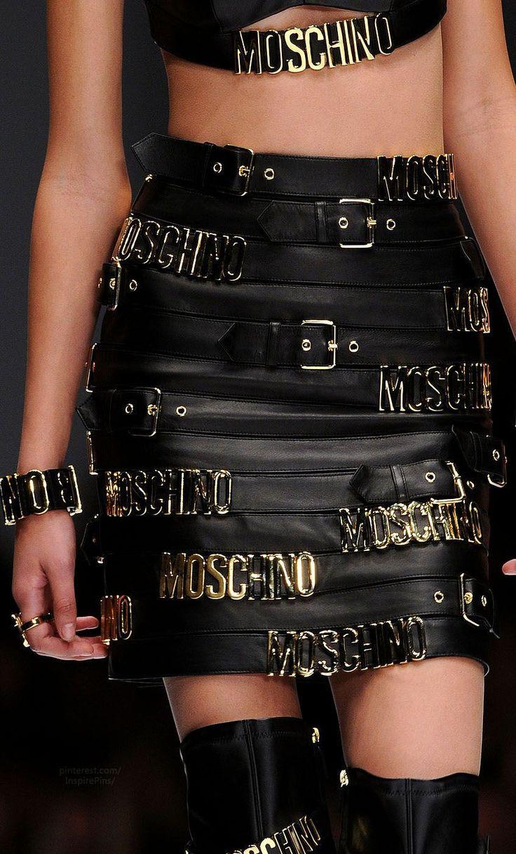 Moschino - Milan Fall 2014 - Details