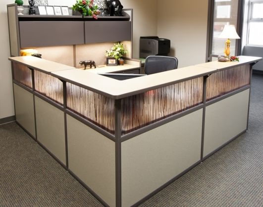 office reception desks designed and manufactured by reception desk rh pinterest com