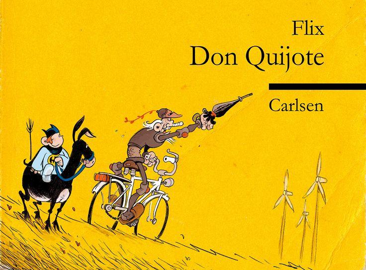 Don Quijote Comic Strip