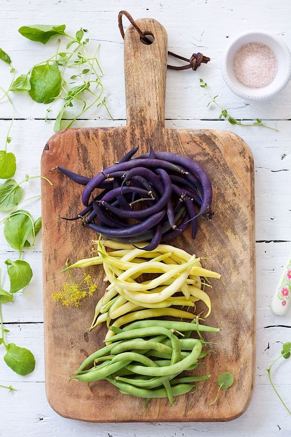 Summer Farmer's Market Picks >>  beans