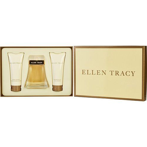 ELLEN TRACY by Ellen Tracy EAU DE PARFUM SPRAY 3.4 OZ & BODY LOTION 3.4 OZ & SHOWER GEL 3.4 OZ