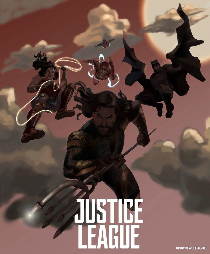 Justice League Movie Poster 2018 Cartoon Version, 19 Justice League Easter Eggs - DigitalEntertainmentReview.com