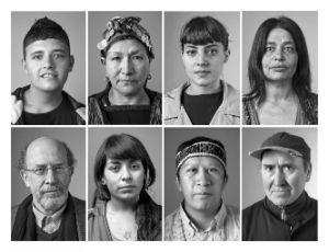 """""""Muchedumbre"""". retratos de chilenos por del fotógrafo Jorge Brantmayer Portraits de femmes chiiennes et d'hommes chiliens par l'artiste Jorge Brantmayer"""