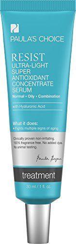 Paula's Choice Resist Ultra-Light Antioxidant Serum with Pure Hyaluronic Acid & Vitamins - 1 oz