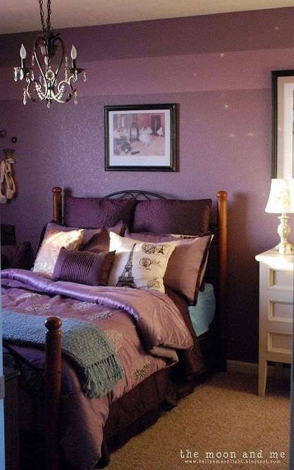 purple bedroom makeover in 2019 bedroom designs inspirationbedroom ideas purple makeover, bedroom ideas, home decor, painting