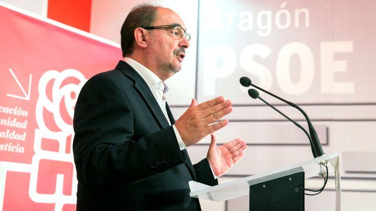 Lambán considera que el PSOE debe consensuar una posición común sobre Cataluña