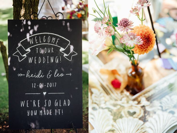 Welcome to our Wedding Chalkboard  #chalkboard #handchalked #weddingsignage #wedding #capetownwedding