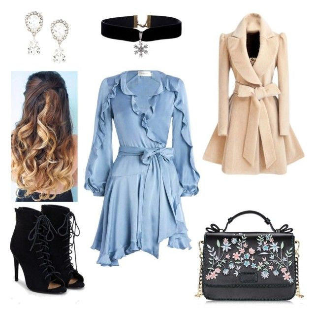 Chic all week by linda-sifis on Polyvore featuring polyvore fashion style Zimmermann JustFab Dolce&Gabbana