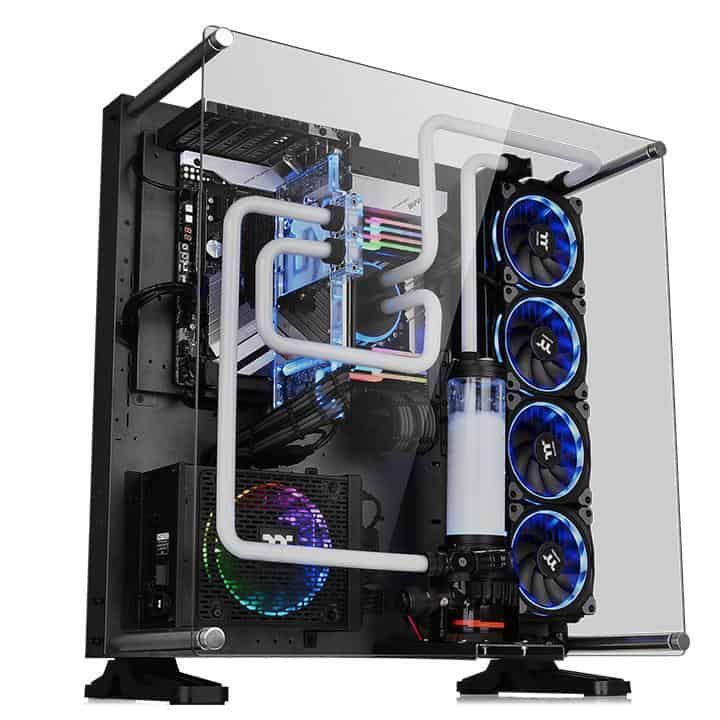 thermaltake core p5 tempered glass ti edition review water cooling rh pinterest com