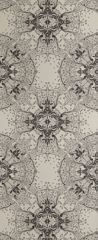 Antique Lace Wallpaper Vanilla by Catherine Martin by Mokum