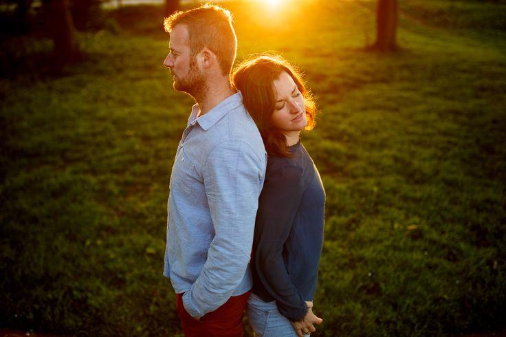 Loveshoot met zonsondergang | de Kievit Bruiloften