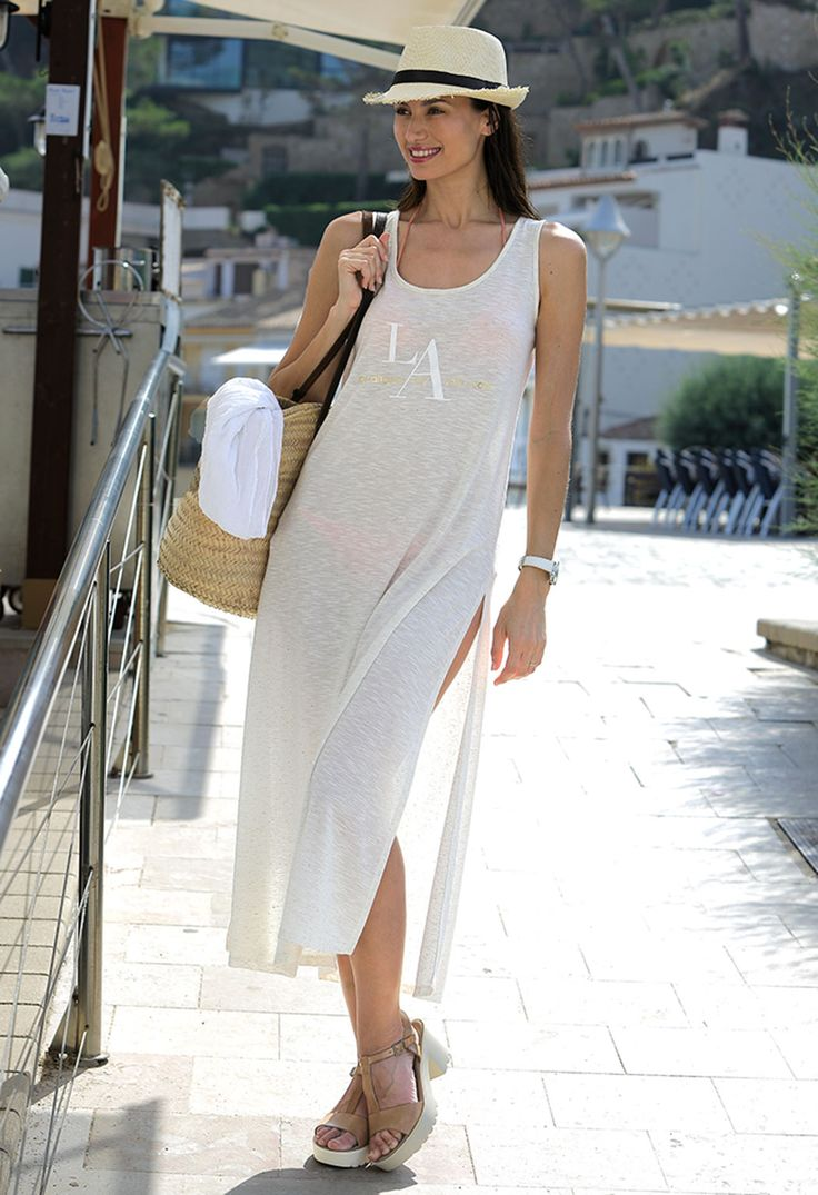 Vestido de playa #women #beach #massana