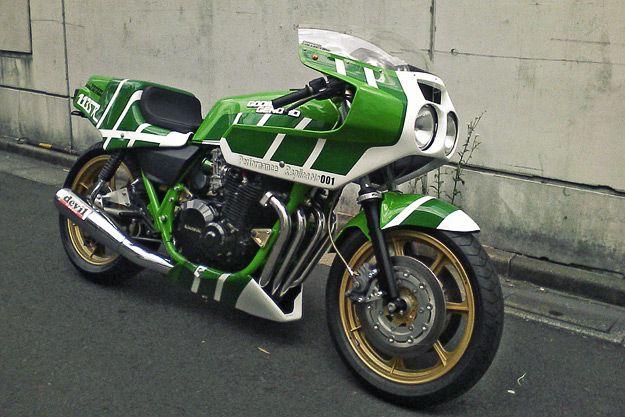 Godier Genoud Kawasaki 1135R replica by Doremi
