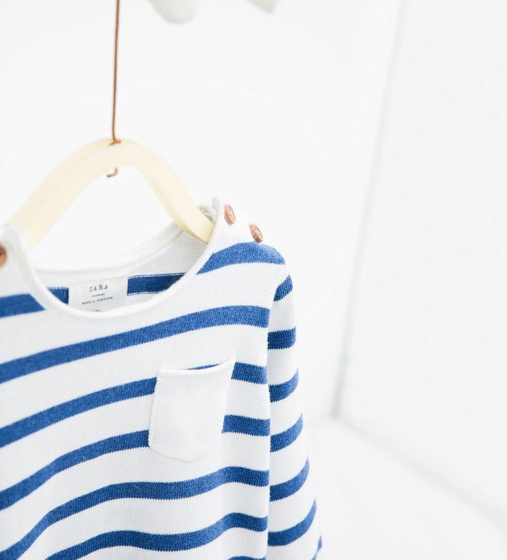 Gestreepte trui-JASSEN EN TRUIEN-Baby jongen   3 maanden - 3 jaar-KINDEREN   ZARA Nederland