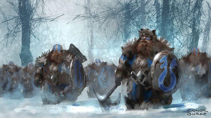 Dwarf Army by Mac-tire.deviantart.com on @DeviantArt