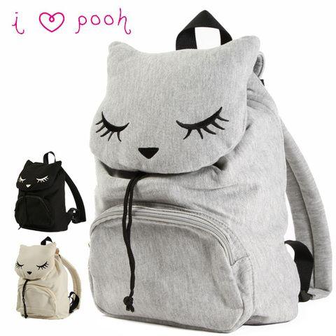 $30 FLAPPER Pooh Chan cat backpack #rakuten
