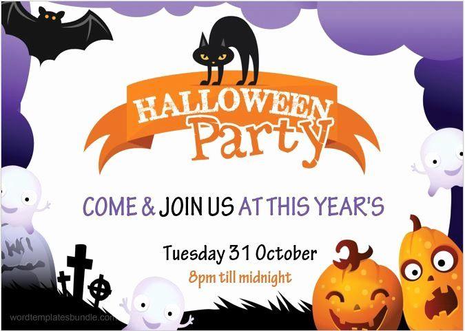Halloween Invitation Templates Microsoft Word Awesome Halloween Party Invitation Cards Halloween Invitation Templates Halloween Invitations Invitation Template