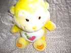 "2004 13"" Yellow Care Bears Cousins Playful Heart Monkey Plush Lovey Collectible - 13, 2004, Bears, Care, Collectible, Cousins, HEART, Lovey, Monkey, Playful, PLUSH, Yellow"