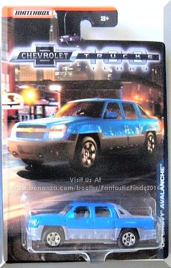 Light Blue, w/Gray interior, Clear windows, Gray bed cover, Gold Chevrolet symbol front grill, Detailed taillights & tailgate, Gray Thailand base, w/Chr6SP's. Only $3.25