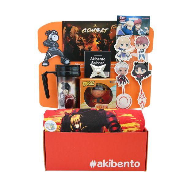 Akibento September COMBAT Box
