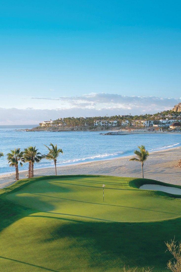 the jack nicklausdesigned 27 hole golf course overlooks the ocean mountains and