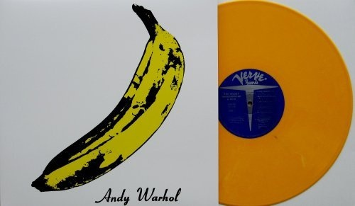 Velvet Underground Amp Nico Banana Cover Pressed On Yellow