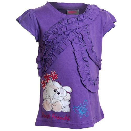 Girls Fizzy Moon T Shirt Top Purple | eBay