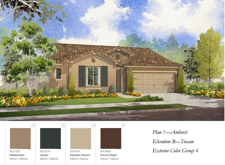 82 best 3 curb appeal images on pinterest small home for Tuscan home exterior colors