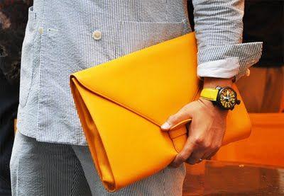 Standard Deviation - Fashion. Design. Culture. Art. Myko.: Question: The Man Clutch?