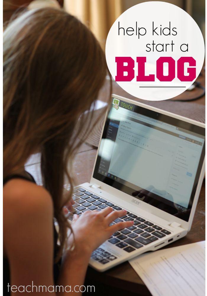 help kids start a blog: get them reading, writing, thinking, creating | #digitalkids #IntelAIO #IntelPartner