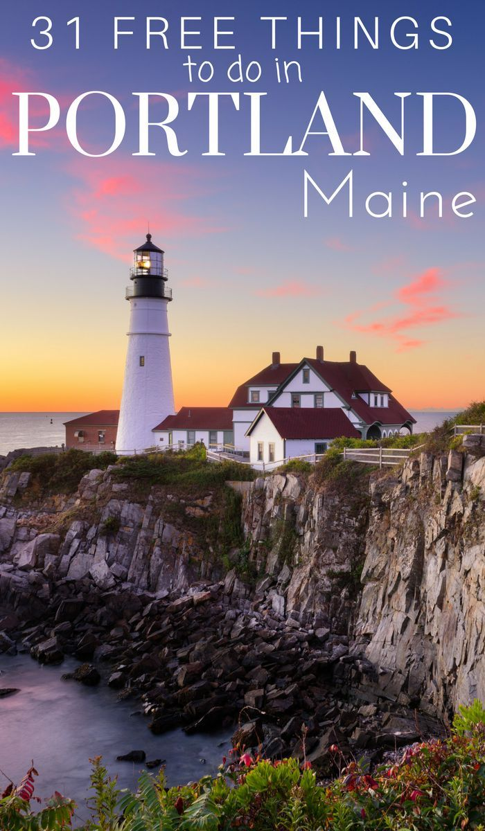 31 free things to do in portland maine maine portland maine rh pinterest com