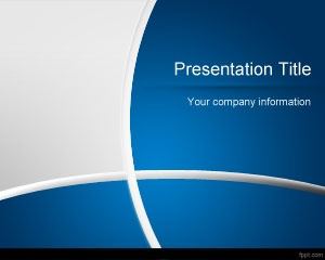 Free Dark Blue PowerPoint template background is a free theme for Microsoft PowerPoint 2007 and 2010 that you can download if you are looking for a free dark and gray PowerPoint template with nice color tones and curves