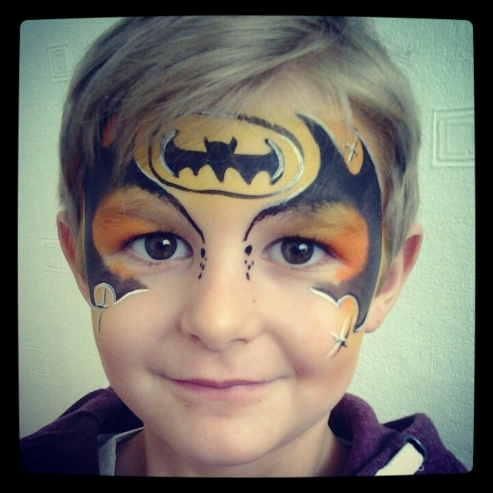 95 best face painting boy super hero images on pinterest artistic make up face paintings and. Black Bedroom Furniture Sets. Home Design Ideas