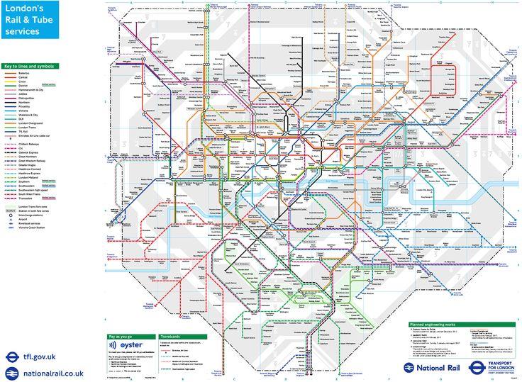 mappa schematica