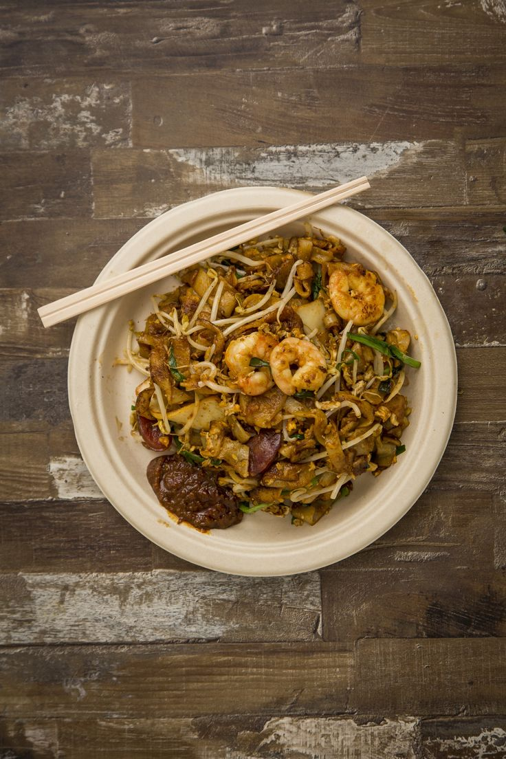 Penang char koay teow fried noodles from Old Jim Kee