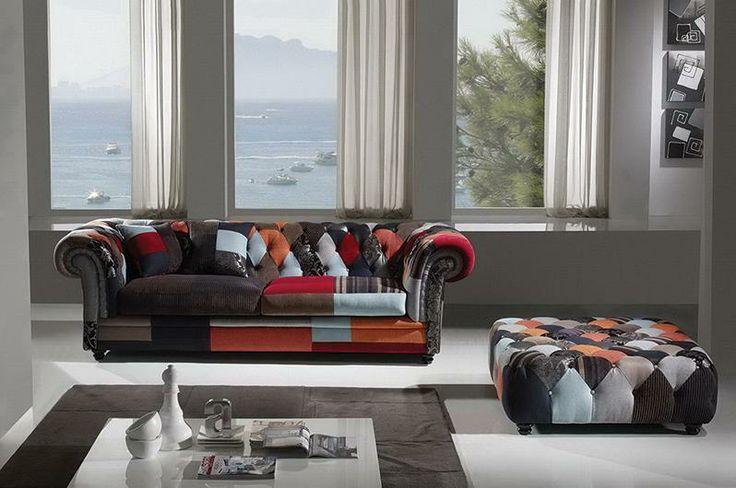 #arredamento #stile #divano #living #luxury