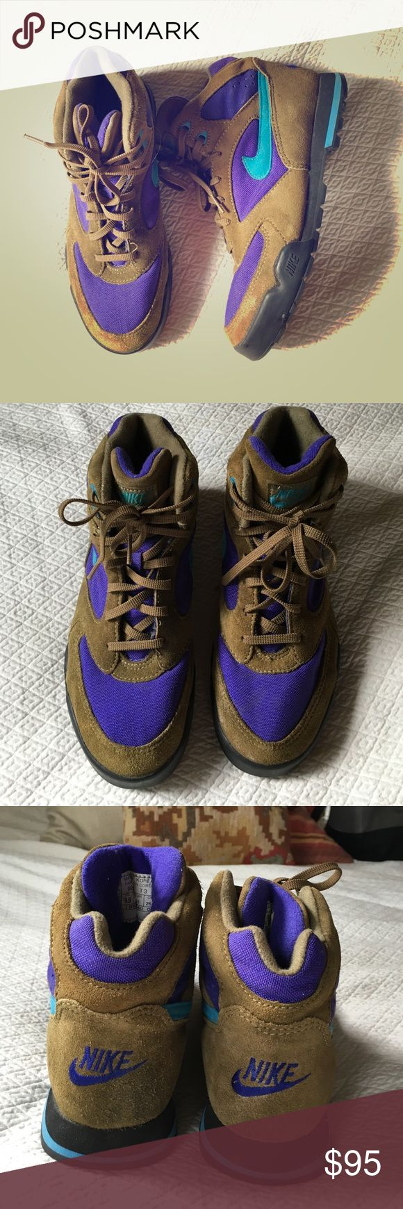 Vintage Nike hiking boots Awesome old school Nike hiking boots. In mint  condition. Very